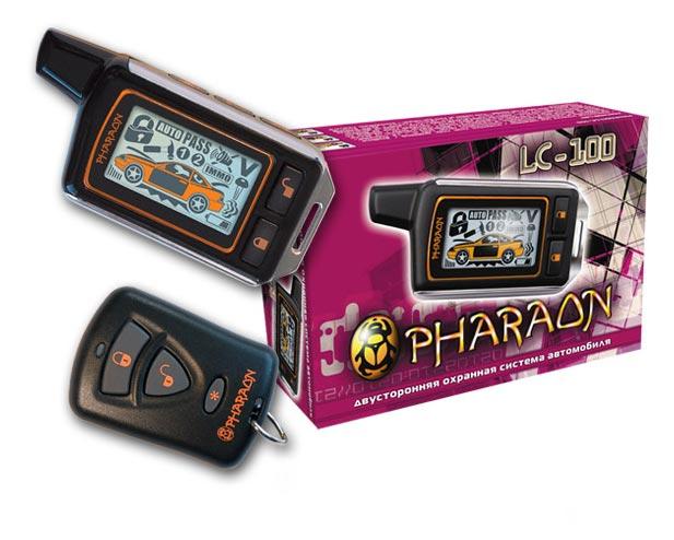инструкция сигнализация фараон lc-100